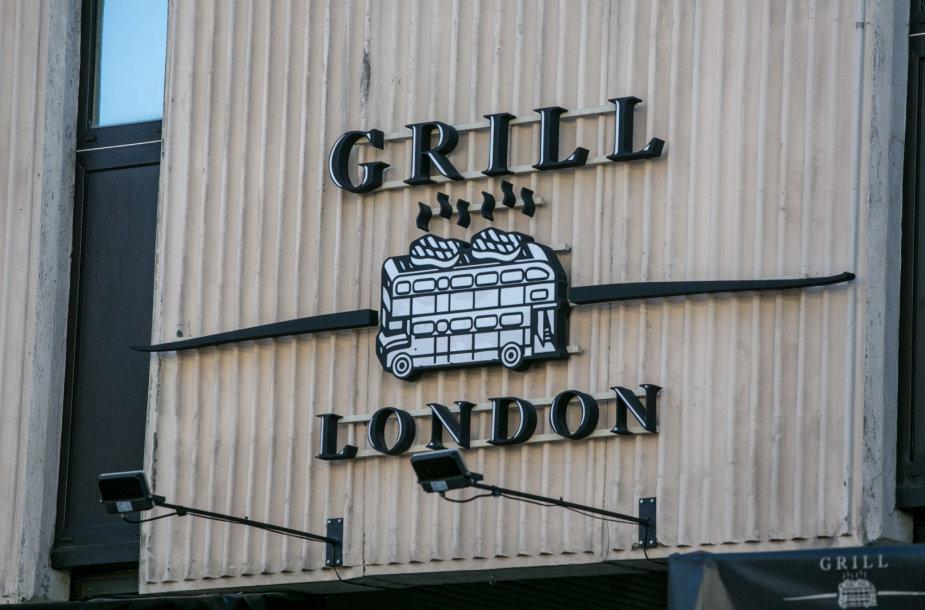 "Restoranas ""Grill London"" Vilniuje"