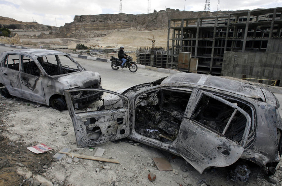 Egipte ilgą laiką rengiami išpuoliai prieš koptus