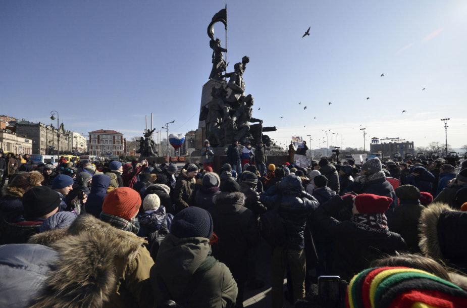 Protestas Rusijoje
