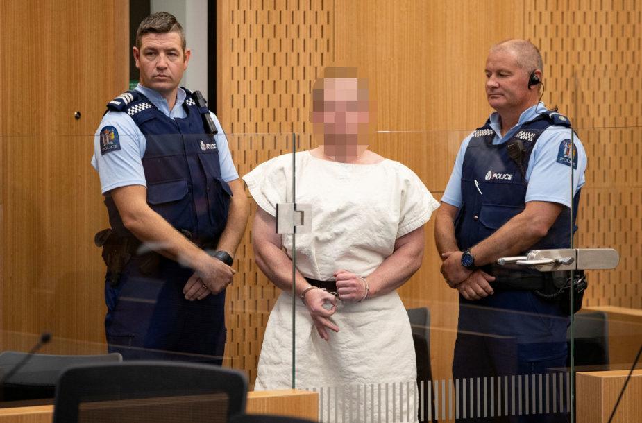 Naujosios Zelandijos šaulys – Brentonas Harrisonas Tarrantas