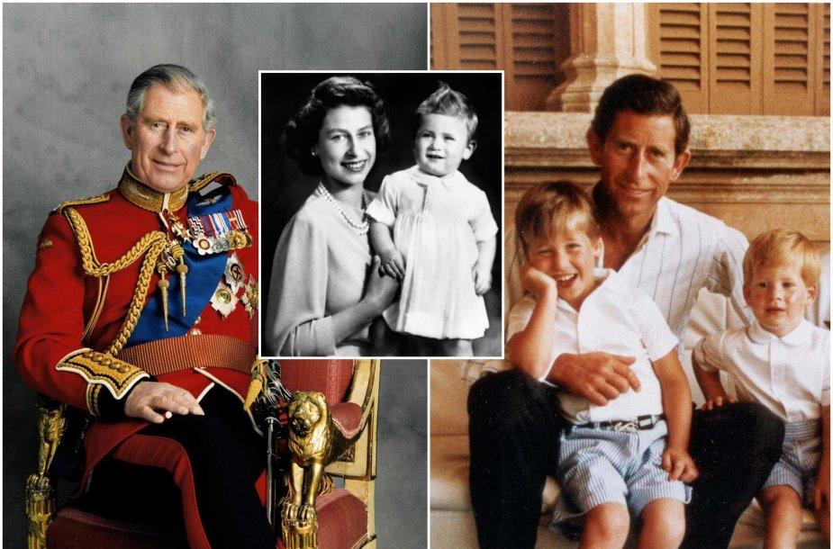 Princas Charlesas švenčia 70 metų jubiliejų