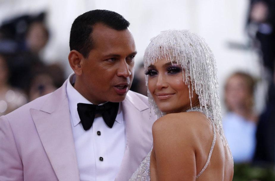 Alexas Rodriguezas ir Jennifer Lopez