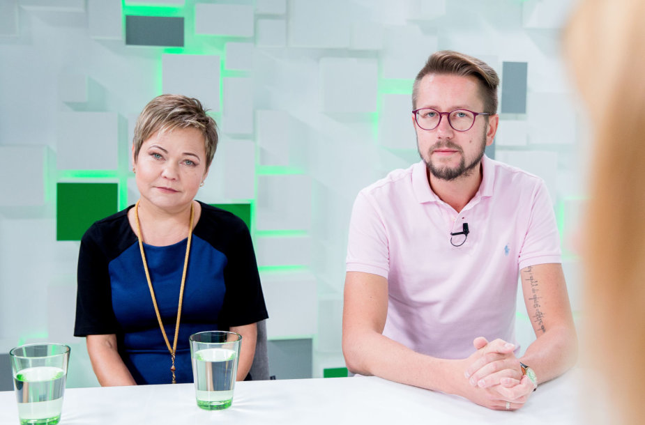 15min studijoje – Andrejus Suchomlinovas ir Vilma Radavičienė