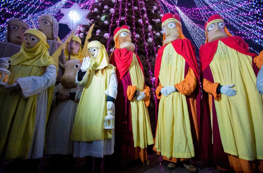 Tradicinė Trijų Karalių eisena Vilniuje