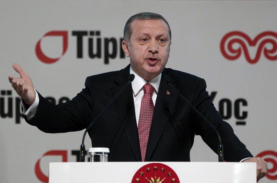 Turkijos prezidentas Recepas Tayyipas Erdoganas