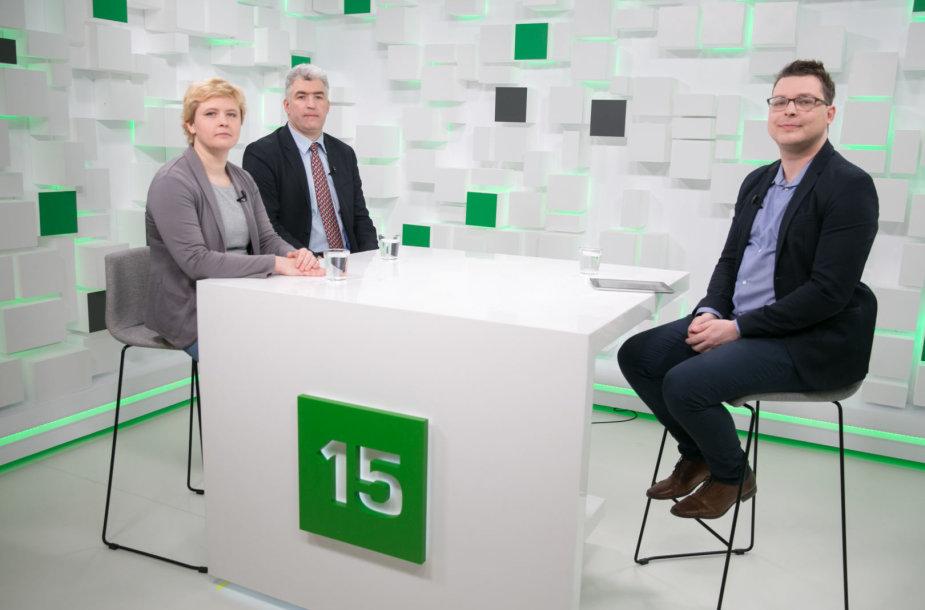15min studijoje – pokalbis apie Rusiją po prezidento rinkimų