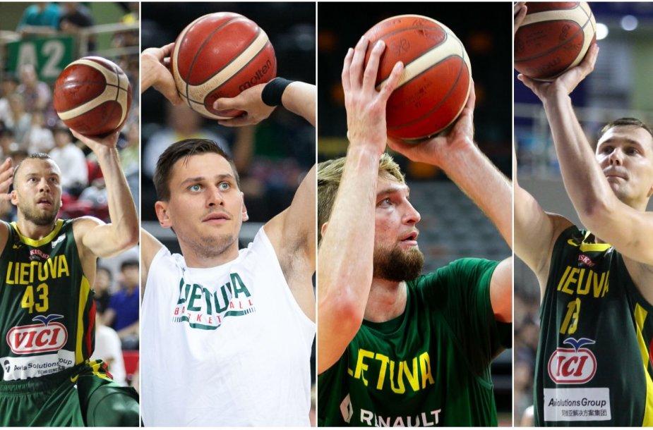 Lietuvos rinktinėje žaidžia keturi kairiarankiai: Lukas Lekavičius, Edgaras Ulanovas, Paulius Jankūnas, Domantas Sabonis.