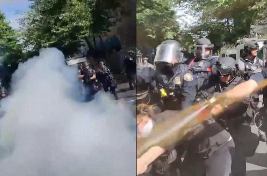Protestai Amerikoje