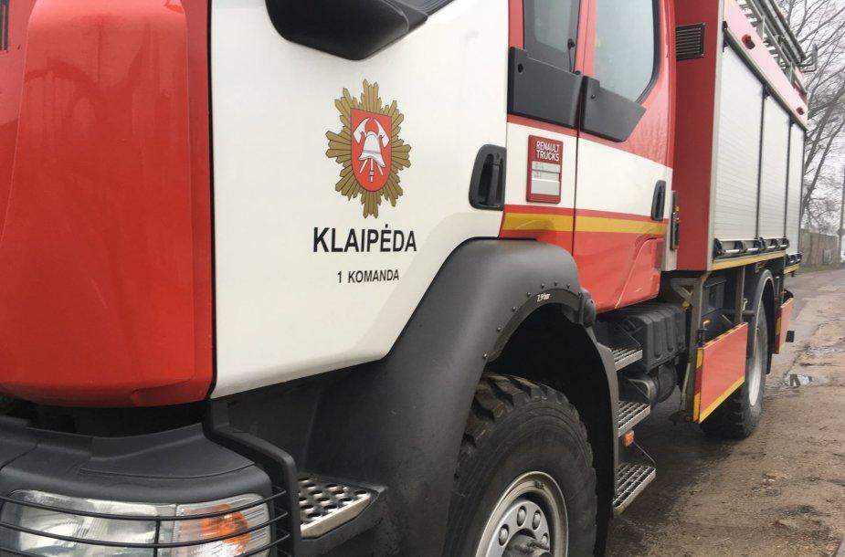 Klaipėdos ugniagesiai