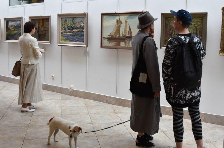 Į kultūrines erdves grįžo darbai iš Aleksandro Popovo kolekcijos rinkinio.
