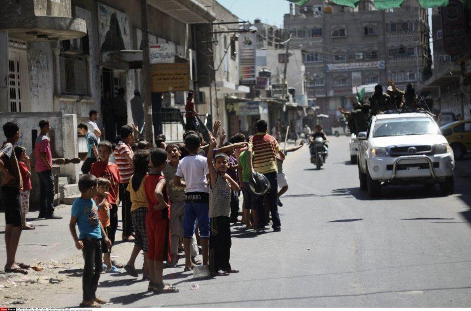 Gatvė Palestinoje