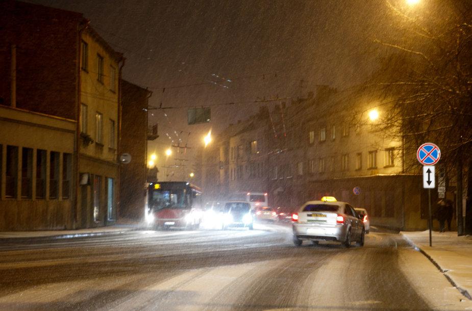 Sniegas Kaune