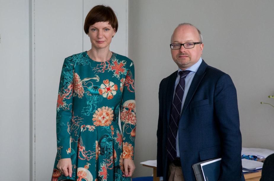 Monika Garbačiauskaitė-Budrienė ir Gytis Oganauskas