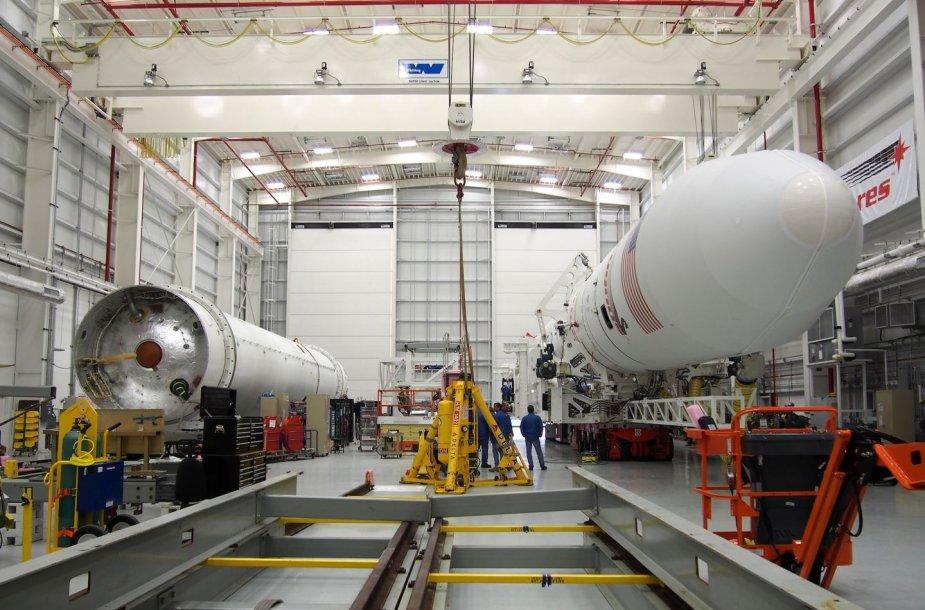 """Palydovą """"LitSat-1"""" nešančią raketą ekspertai stebės iš Wallops skrydžių centro"""