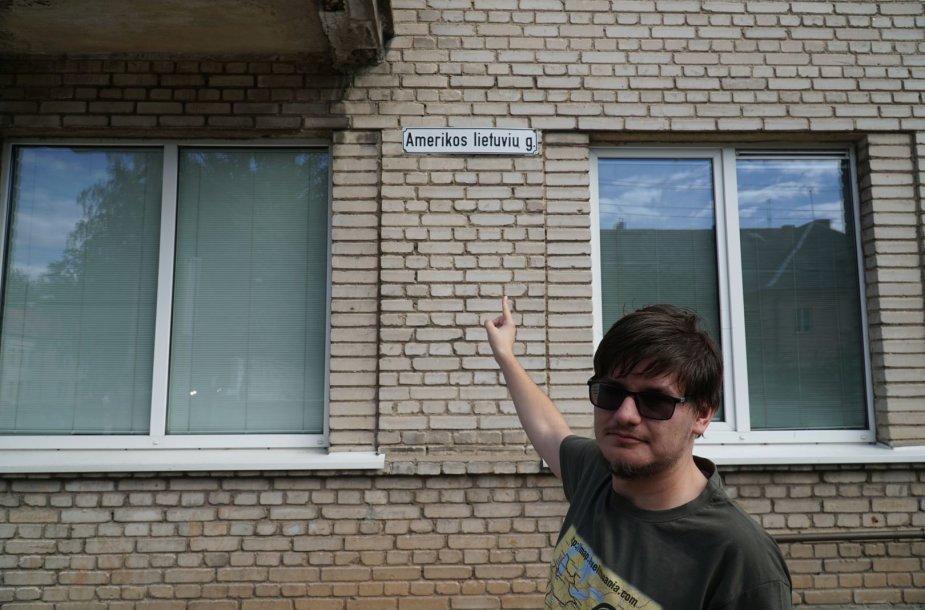 Amerikos lietuvių gatvė Kaune