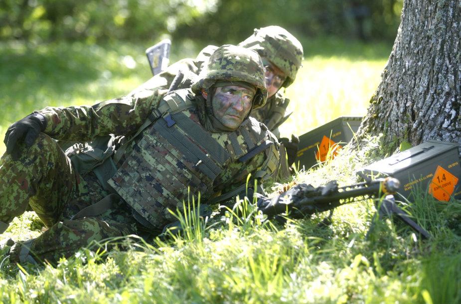"""NATO karinės pratybos """"Siil"""" Estijoje"""