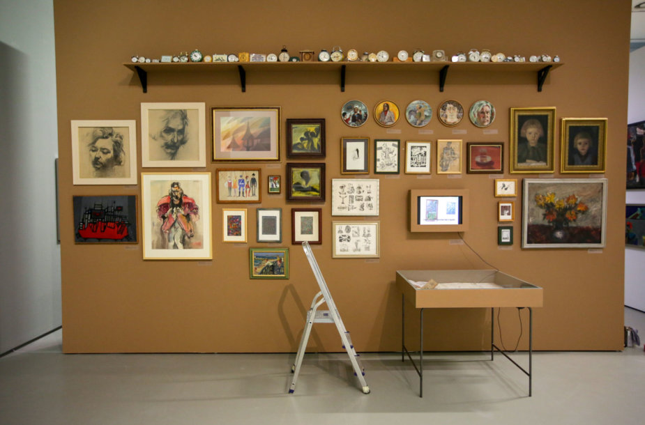 Nacionalinėje dailės galerijoje atidaroma paroda