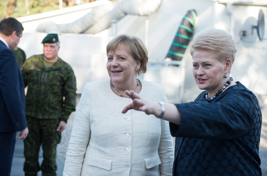 Angela Merkel lankėsi Rukloje
