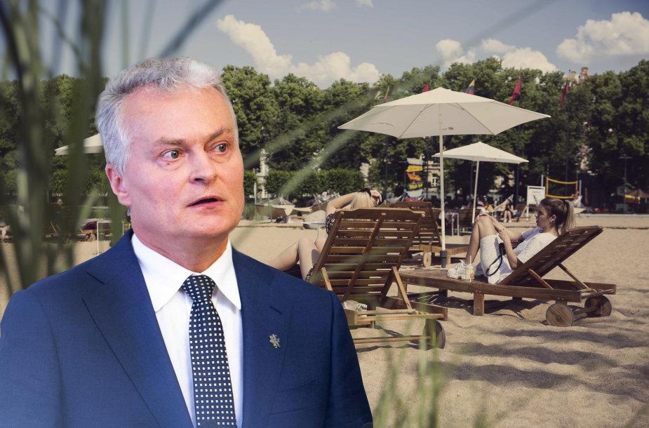Prezidentas Gitanas Nausėda priims sprendimą dėl Lukiškių aikštės įstatymo