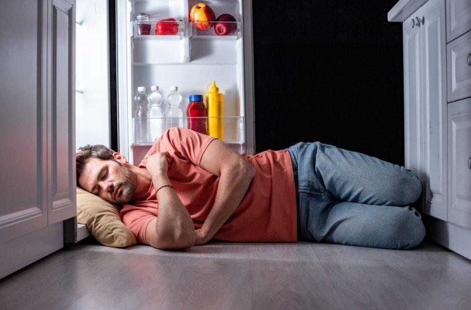 Sudėtinga ramiai išsimiegoti per karščius