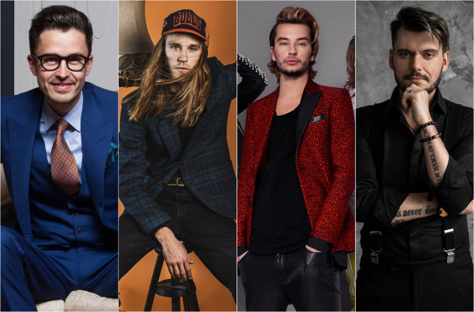 Iš kairės: Andrius Sergejenko, Marius Lucka, Lukas Gricius, Tadas Rimgaila