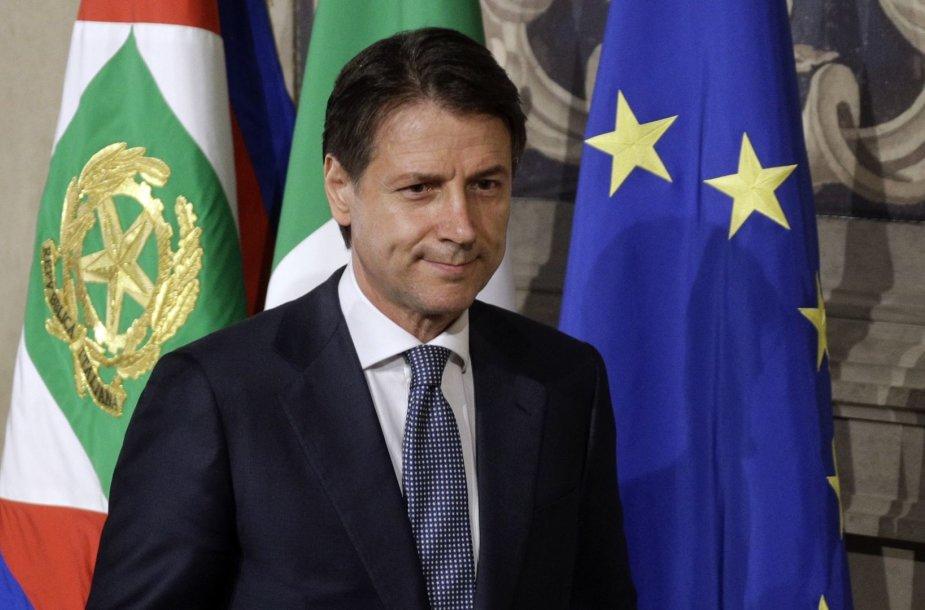 Giuseppe Conte – naujasis Italijos premjeras