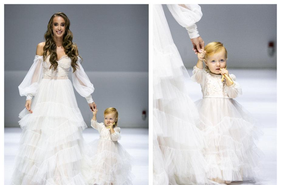Viktorija Siegel su dukra Nicole