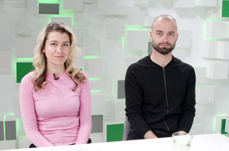15min studijoje – Evelina Brusokaitė ir Aleksandras Špilevojus