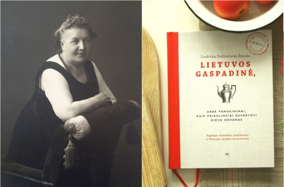 Liudvika Didžiulienė-Žmona ir atnaujintas jos knygos leidimas