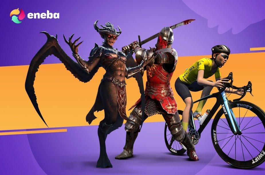 """""""ENEBA"""" pristato: laukiamiausi žaidimai 2021 birželį"""