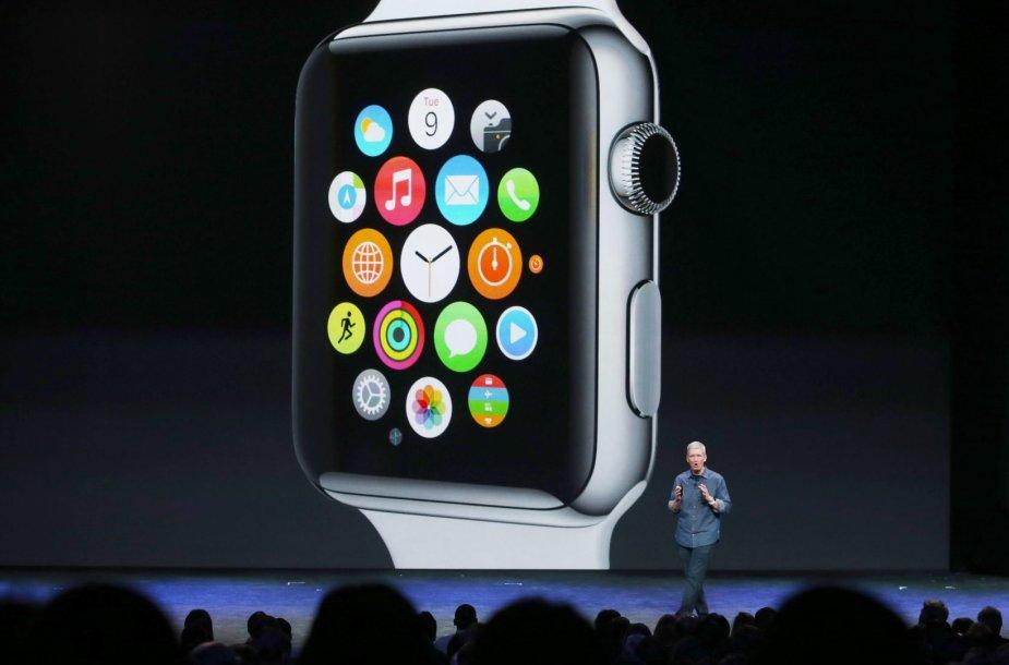 "išmanusis laikrodis ""Apple Watch"""