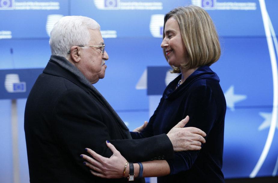 M.Abbasas ir F.Mogherini