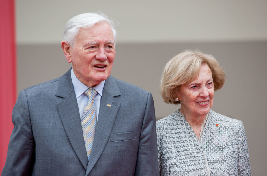 Valdas Adamkus ir Alma Adamkienė