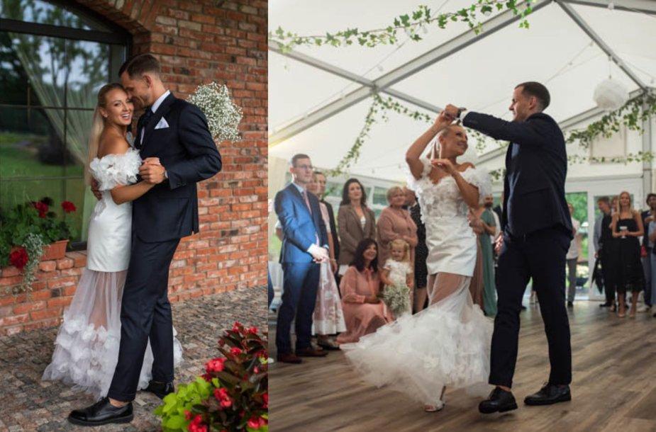 Eglės Straleckaitės ir Dominyko Domarko vestuvių akimirkos