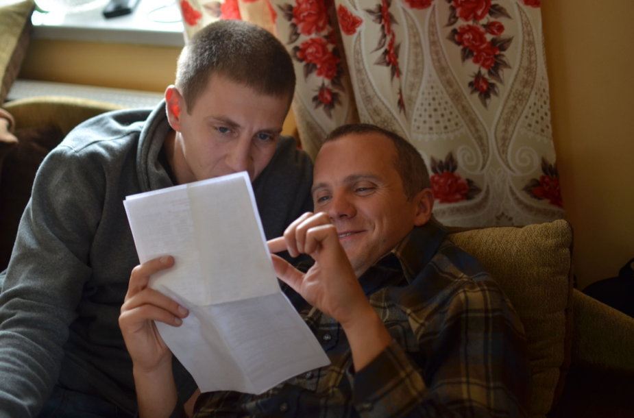 Giedrius Savickas ir Marius Repšys