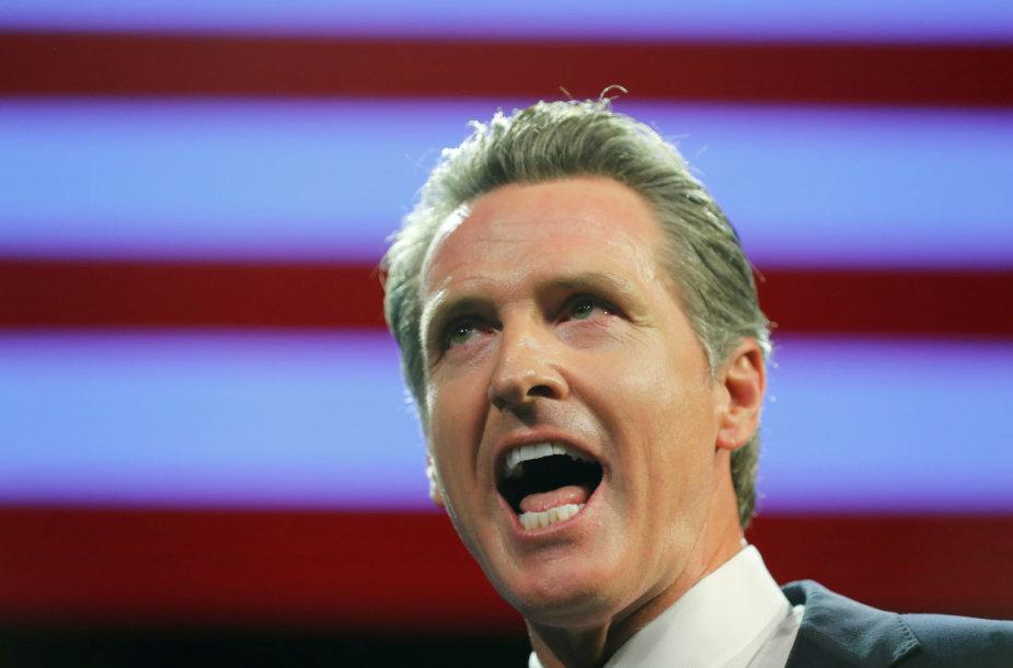 Kalifornijos gubernatorius Gavinas Newsomas