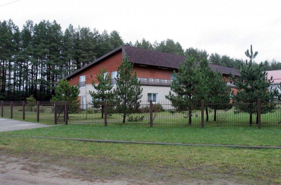Patalpos Antaviliuose, kur galėjo veikti CŽV kalėjimas