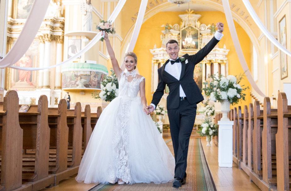 Ramūno Navardausko ir Gabrielė Jankutės vestuvės