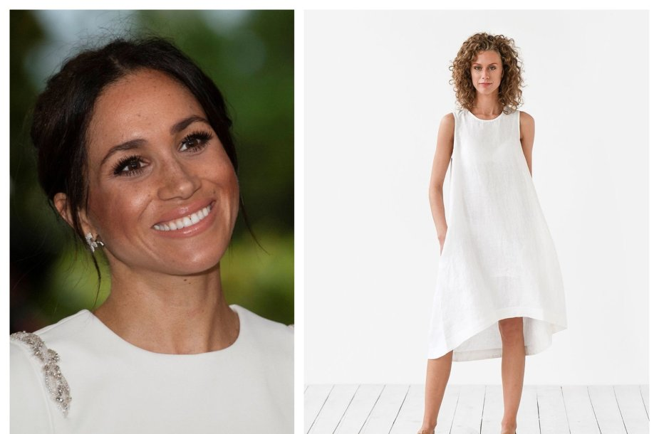 "Meghan Markle, ""Magic Linen"" modelis"