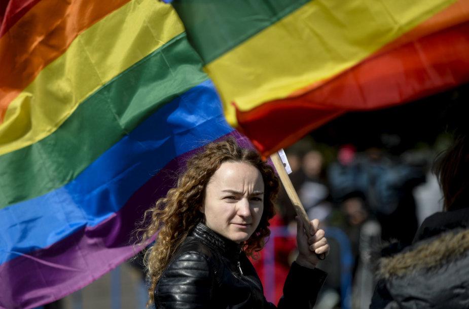 Aktyvistė Rumunijoje
