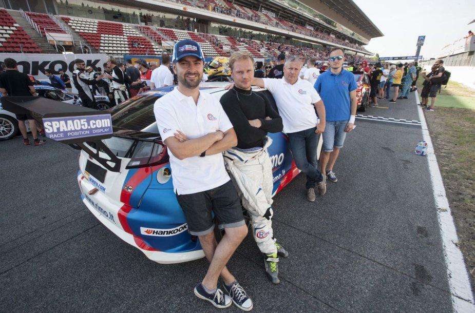 """""""Rimo Racing"""" komanda Barselonoje"""
