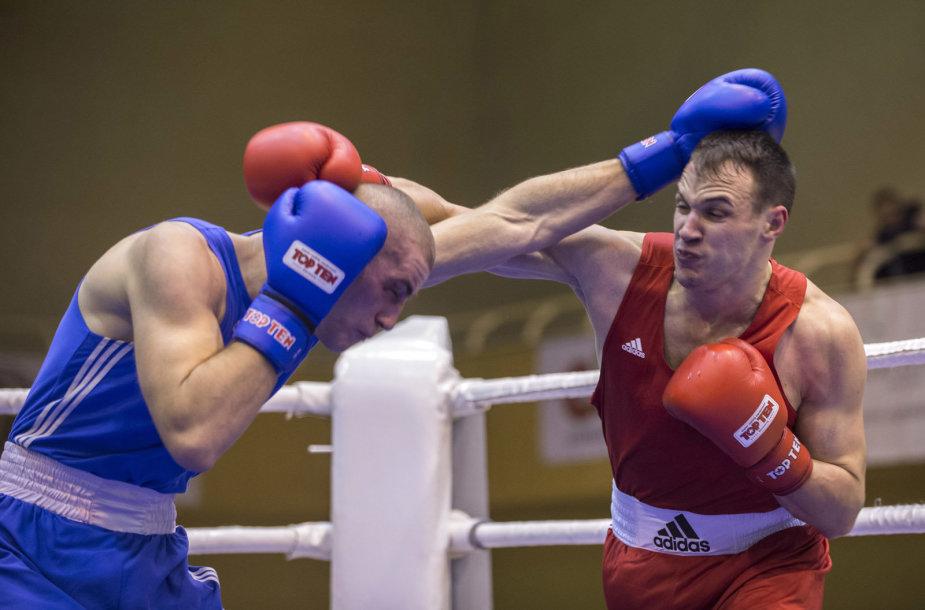 Vilniuje prasidėjo Lietuvos bokso čempionatas