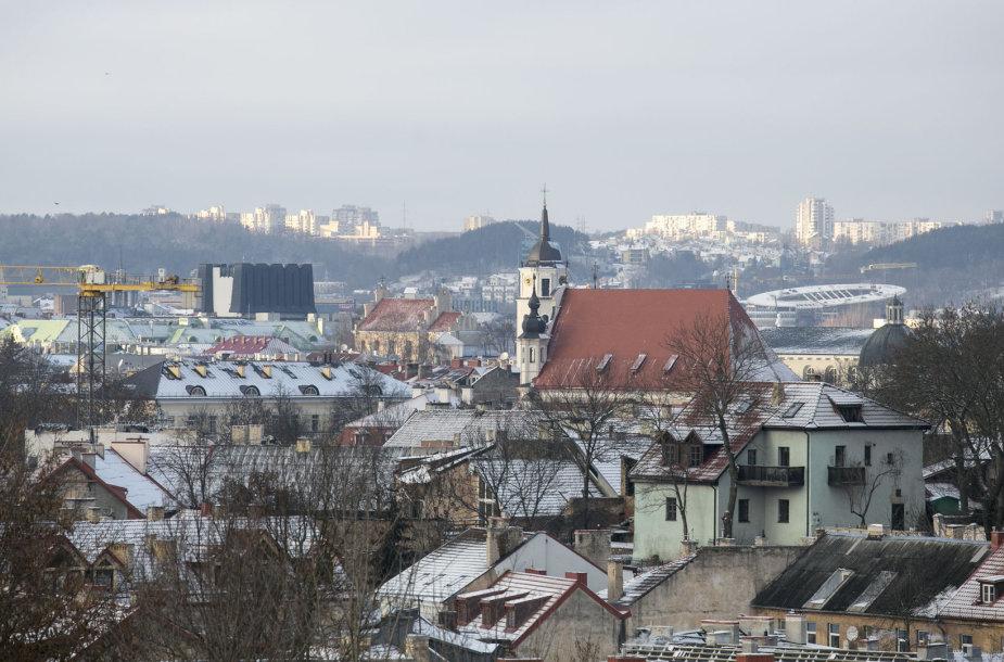 Vėsi popietė Vilniuje