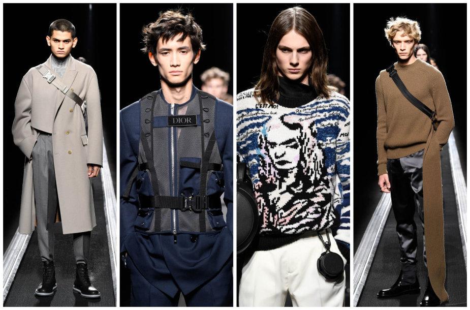 """""""Dior"""" 2019–2020 m. rudens ir žiemos kolekcijos modeliai"""