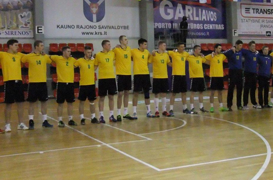 Europos rankinio atrankos turnyras: Lietuva – Rusija