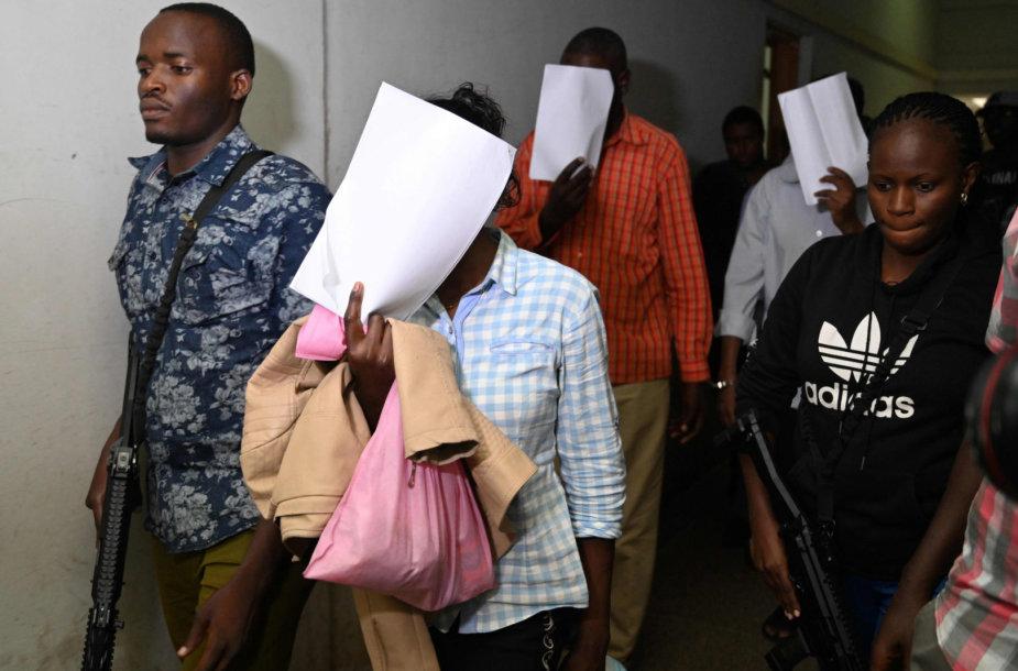 Penki įtariamieji stojo prieš teismą dėl išpuolio Nairobio viešbučio komplekse