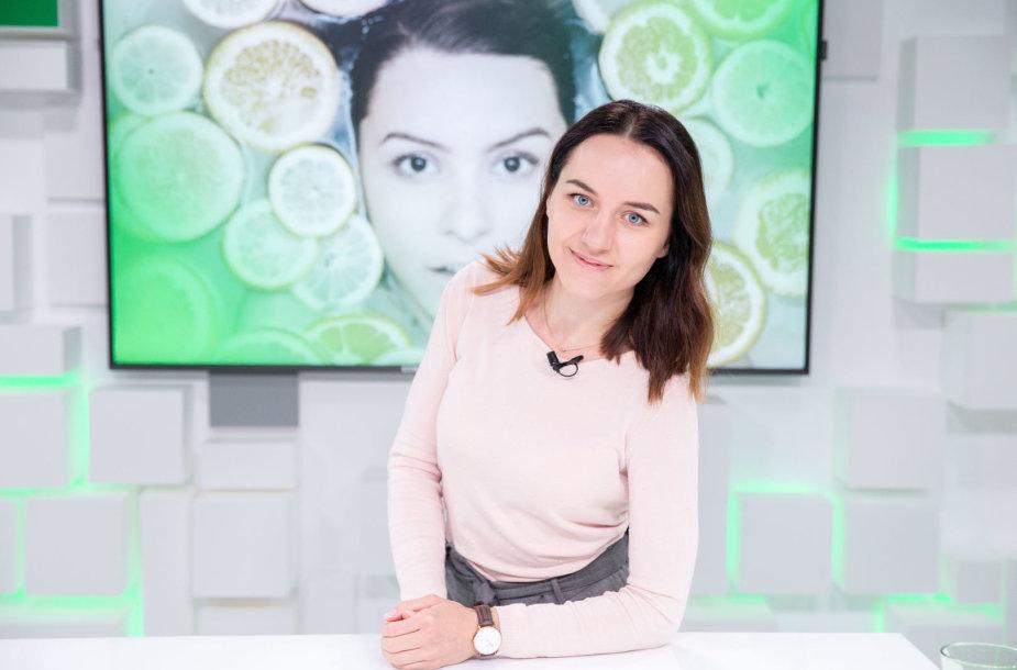 15min studijoje – kosmetologė Monika Launikaitytė
