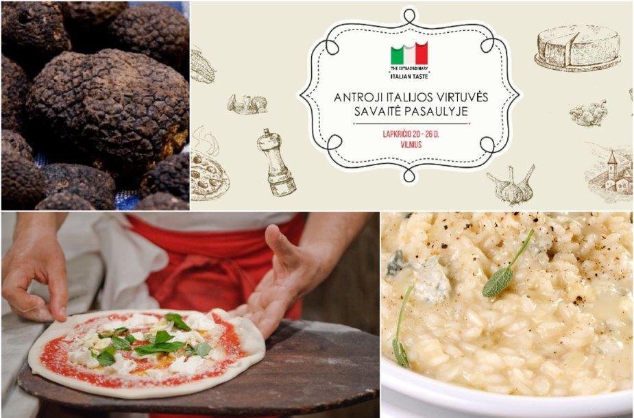 Itališkosios virtuvės savaitė
