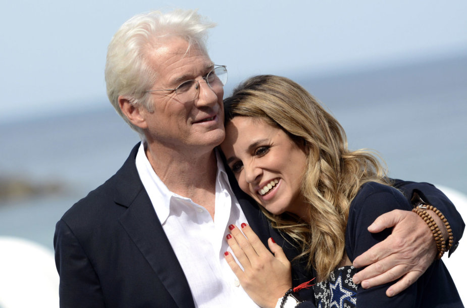 Richardas Gere'as ir Alejandra Silva