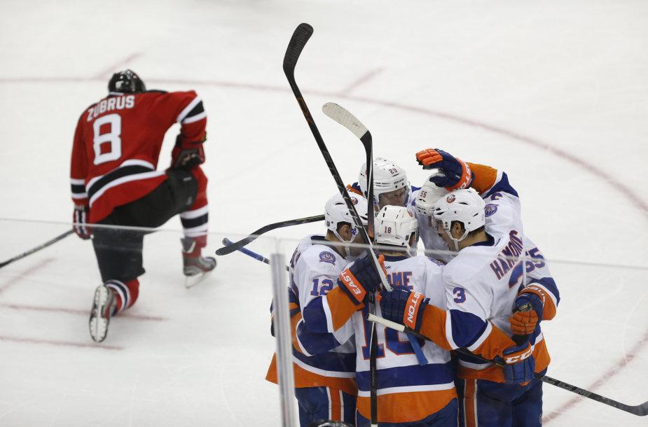 """Dainius Zubrus su komanda nusileido """"Islanders"""""""